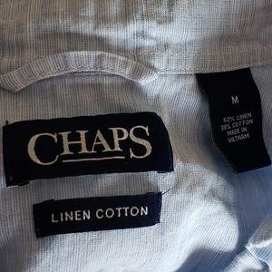 CHAPS Button Down Dress Polo